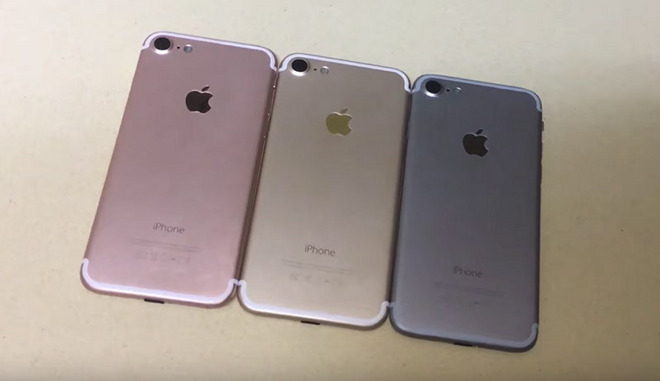 Video Shows IPhone 7 Mockups In Space Gray Gold And Rose