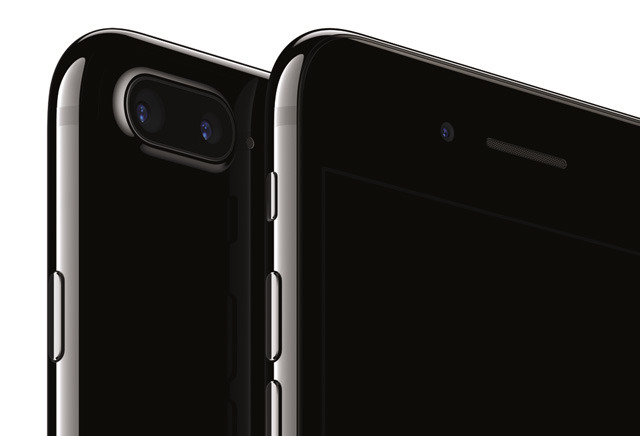 The High Gloss Finish Of Jet Black IPhone 7 Is Achieved Through A Precision Nine Step Anodization And Polishing Process Disclaimer Near Bottom