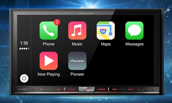 pioneer apple carplay. hands-on demonstrations with pioneer nex systems running carplay were provided to macworld, cnbc, and digital trends this week, as the head unit maker apple carplay a