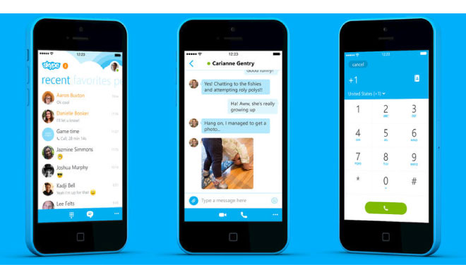 how to add phone number to skype on iphone