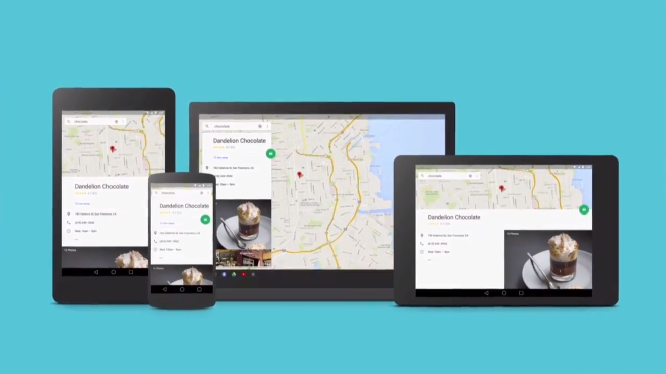 Google unveils Android L with colorful new 'Material ...