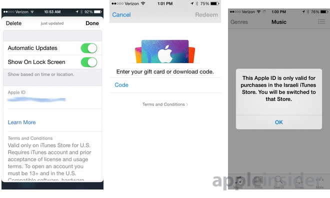 First look: Using Passbook at an Apple Store to buy iTunes & App ...