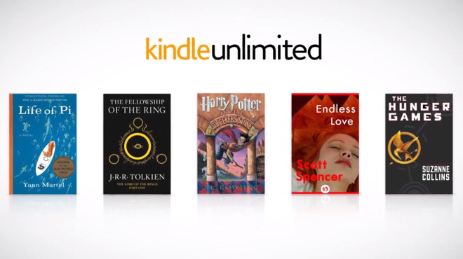 amazon launches ios  patible kindle unlimited a 10 mo