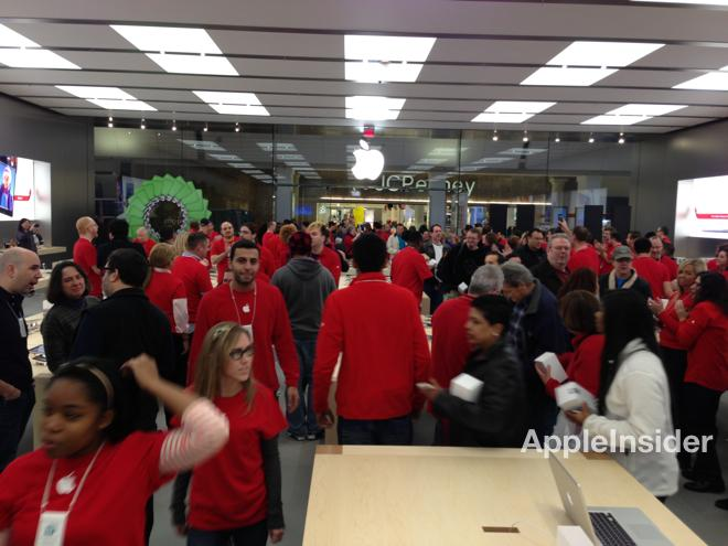 photos of apples re opened garden state plaza store via appleinsider reader ryan - Apple Store Garden State Plaza