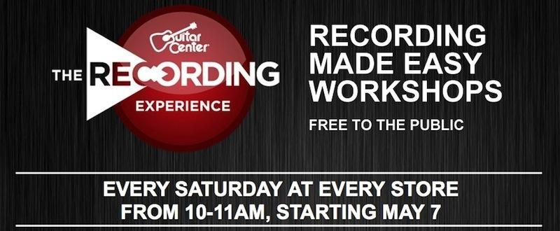 apple and guitar center partner up to offer garageband workshops. Black Bedroom Furniture Sets. Home Design Ideas