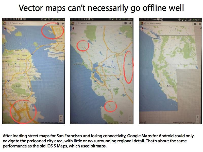 Apples New IOS Maps Support Automatic Offline Use For A Wide Area - Us road map app offline