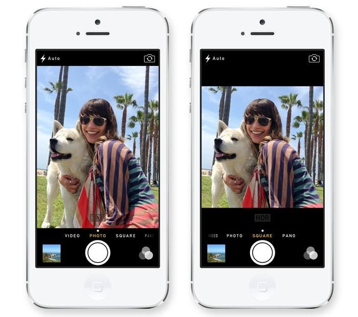 Inside iOS 7: Apple adds Instagram-like filters, square capture to ...