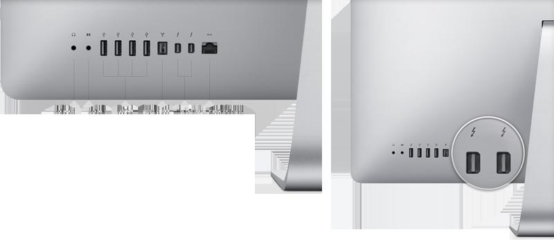 iMac thunderbolt
