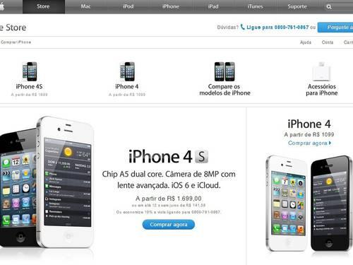Apple Slashes IPhone 4 4S Prices Up To 25 In Brazil
