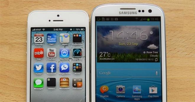 Study finds little difference between iPhone, Galaxy S III ...