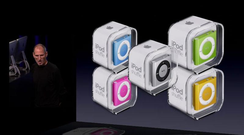 Apple adds buttons to new fourthgeneration iPod shuffle