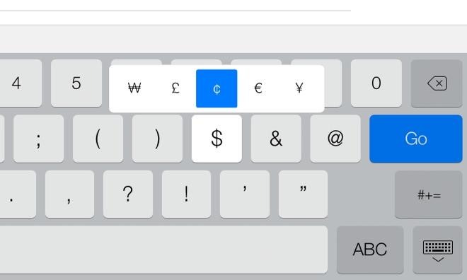 how to make a cent sign on a mac keyboard