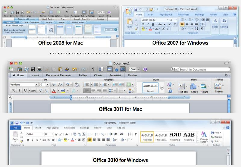 Microsoft reveals office for mac 2011 will be 32 bit only - How to get office for mac ...