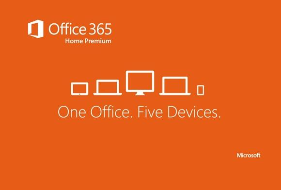 microsoft office 365 home premium installs on up to 5 devices for 9999 a year