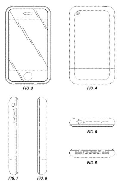 Apple wins patent for first iPhone, designed by Jobs & Ive