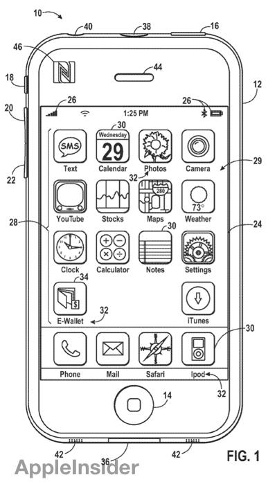 Apple's iPhone e-wallet concept includes controllable subsidiary ...