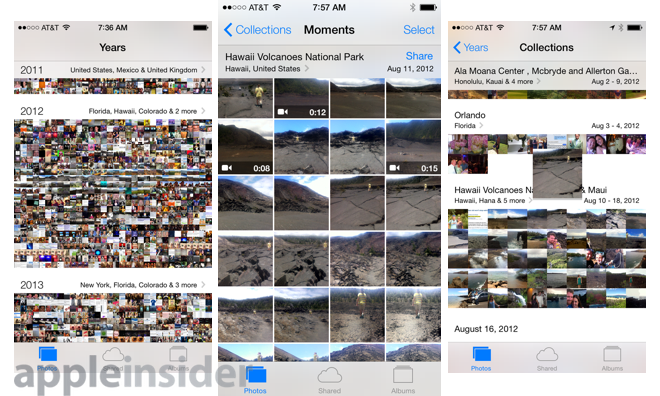Goodbye, Camera Roll: Where to find your photos in iOS 8