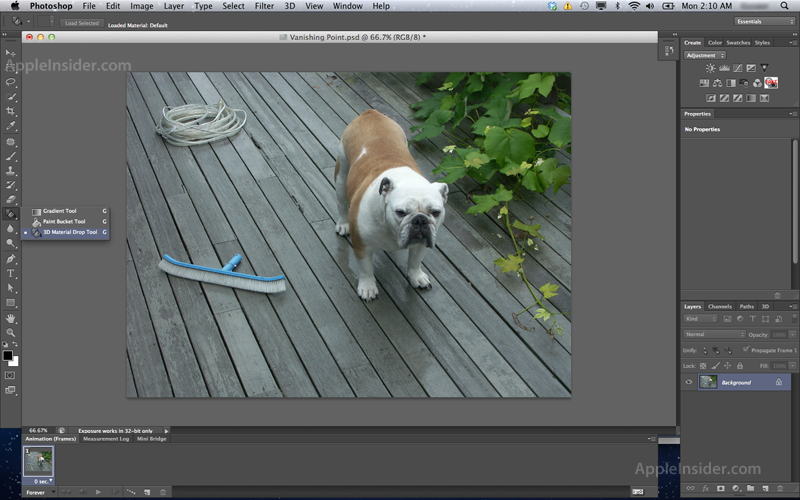 adobe photoshop cs6 to adopt aperture like theme new 3d functionality