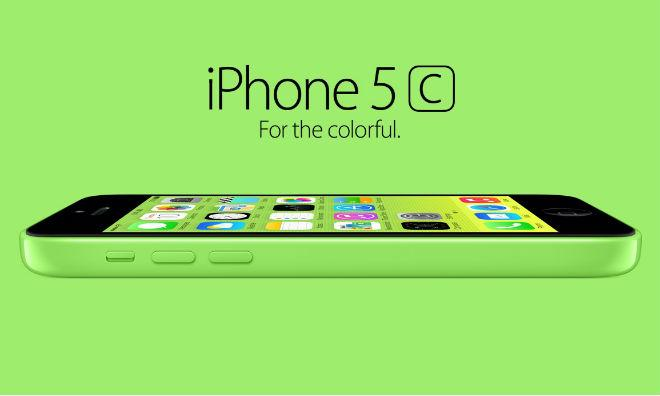 Seemingly Going The Extra Mile To Celebrate Its Colorful New Array Of Lower Cost IPhones Apple Will Ship IPhone 5c With A Default Wallpaper That