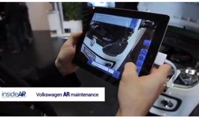 Vw Shows Off Ios Augmented Reality Repair App For Xl1 Concept Car