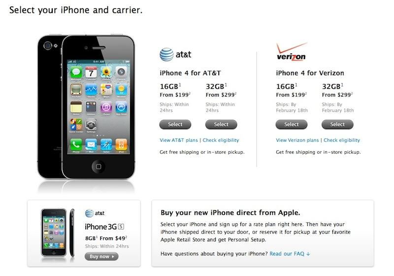 Apple Store Relaunches With New Verizon IPhone - Business invoices free verizon online store