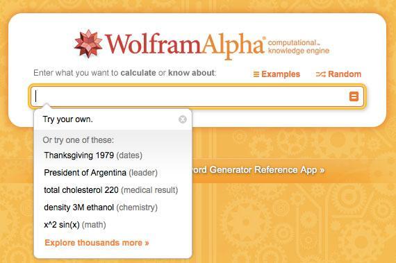 Wolfram|Alpha: Computational Intelligence