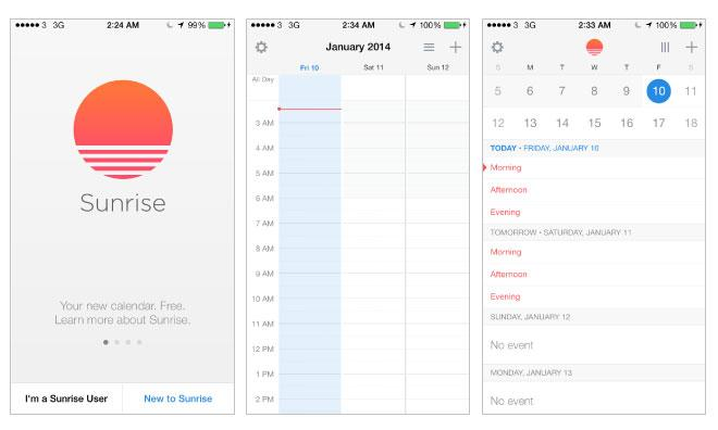 Microsoft acquires iOS calendar app Sunrise for $100M - report