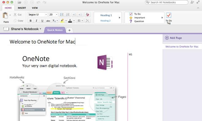 Microsoft releases free OneNote information organizer on
