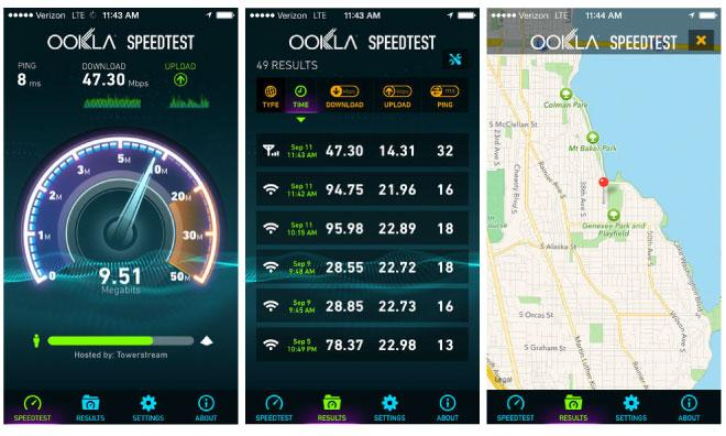 Apps: Speedtest net goes universal, Day One adds Publish