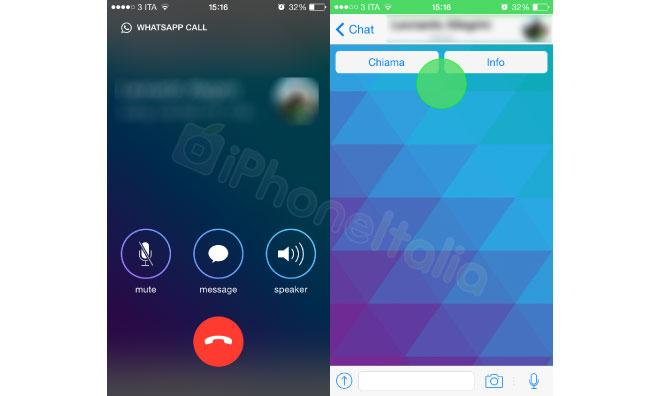 Screenshots purport to show WhatsApp's new VoIP calling feature in