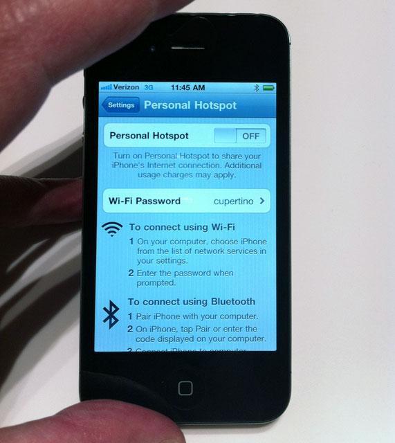 How to setup hotspot on iphone 8 plus verizon