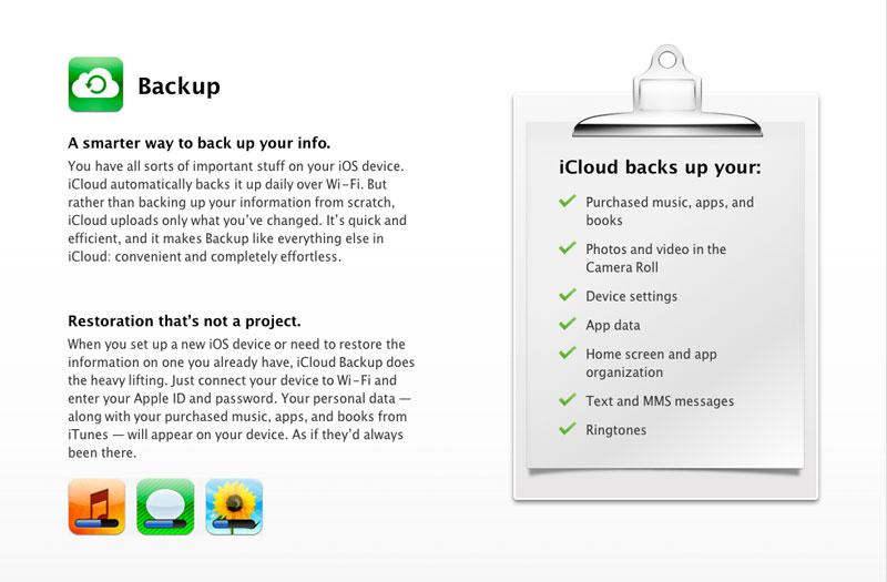 Apple's free iCloud will automatically sync data from Macs