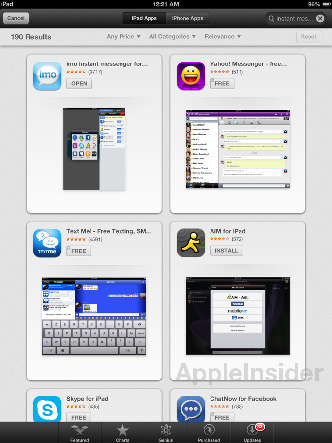 Apple rolls out updated iOS 6 beta App Store with Chomp