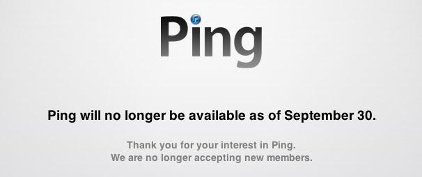 Apple to kill Ping social music sharing service on Sept  30