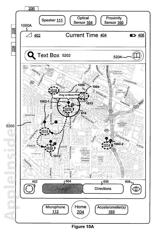 Apple awarded patent rights for original iOS Maps app GUI