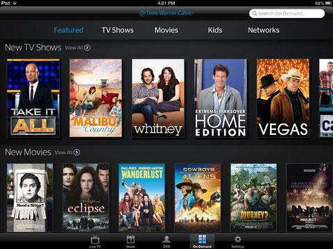 Time Warner Cable to offer on-the-go live TV with 'TWC TV' iOS app