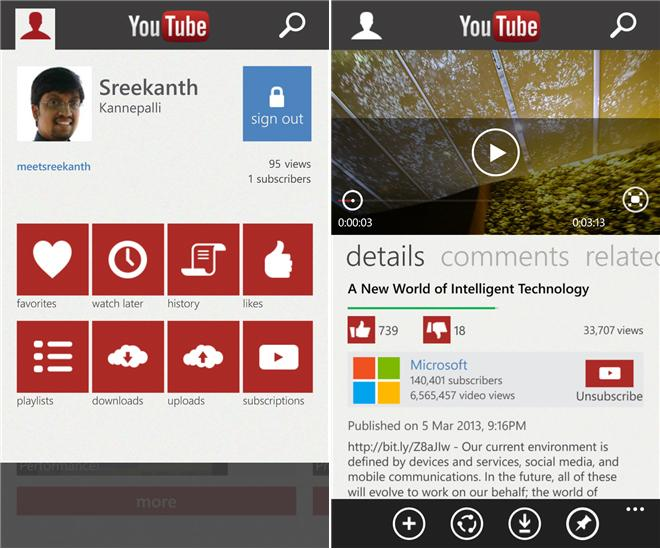 Google tells Microsoft to take down unofficial YouTube app