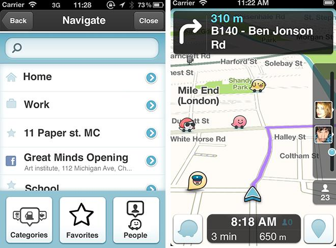 Waze iOS app integrates Facebook events to live maps in update