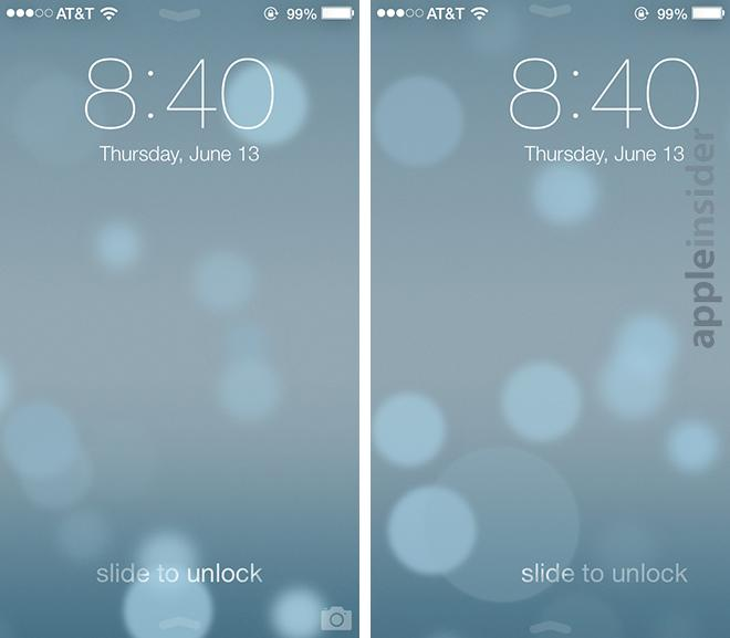 The Lock Screen now moves as a panel instead of a single slider when unlocking an iPhone.