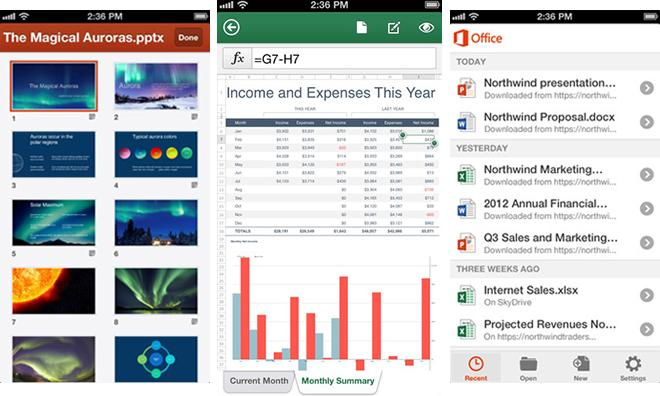Office comes to iOS: Microsoft releases Office 365 app for iPhone