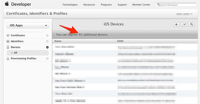 Apple now allowing up to 200 test devices per iOS developer