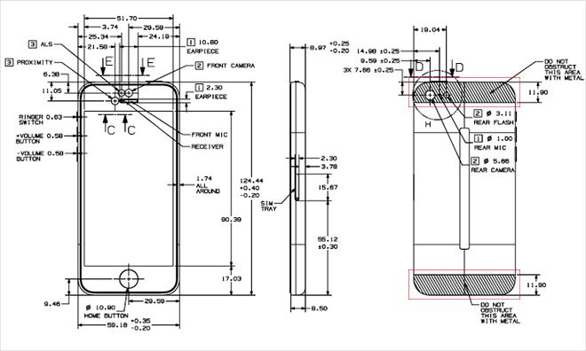 apple u0026 39 s revised guidelines for case designers offer peek at iphone 5s and 5c internals