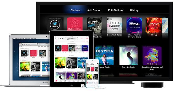 6 months after launch, Apple's iTunes Radio already more