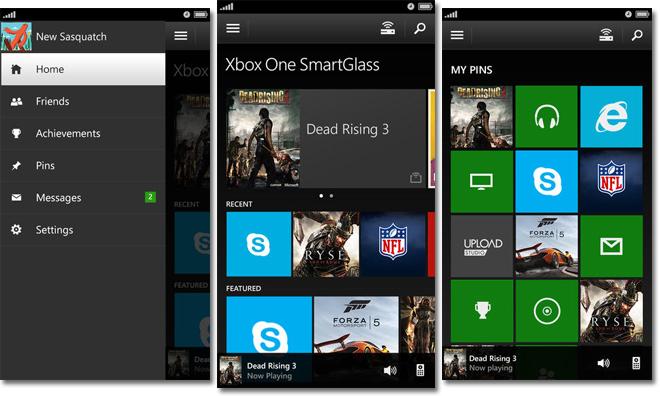 Microsoft debuts Xbox One compatible 'SmartGlass' iOS app