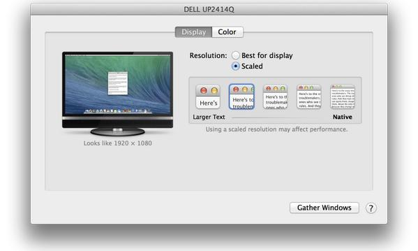 Apple to enable pixel-doubled 'Retina' mode for 4K monitors in OS X