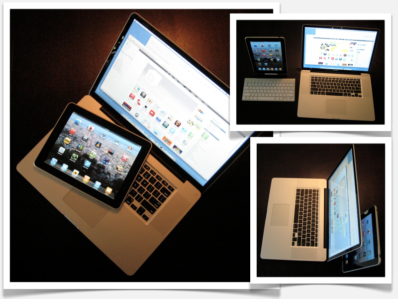MacBook Pro and iPad