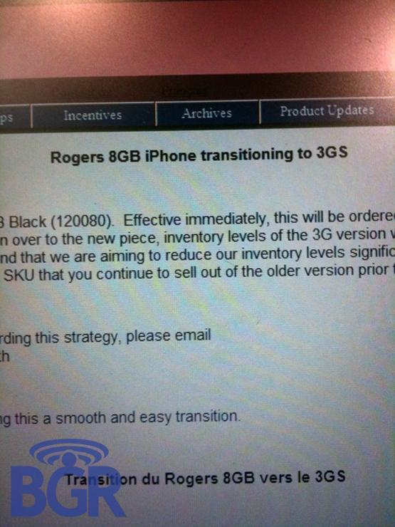 iPhone 3GS 8GB 2