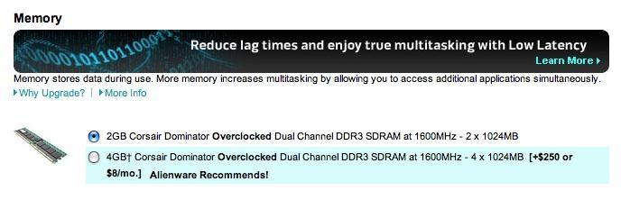 Dells Alienware RAM scam