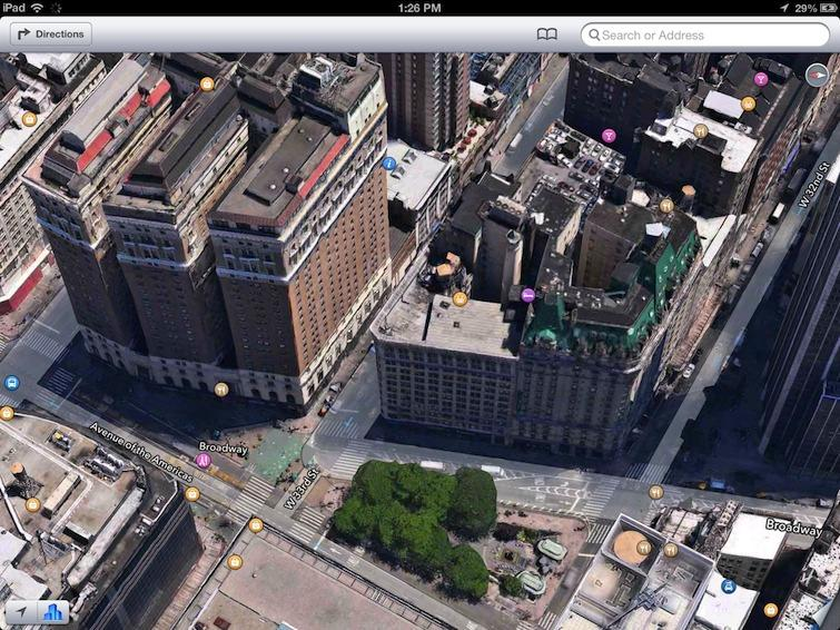 Google S New 3d Maps Destroy Manhattan In The Wake Of Apple S Flyover