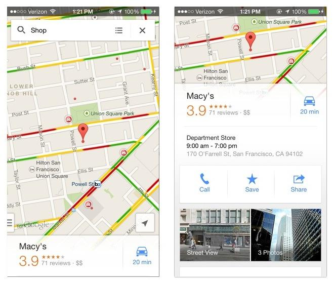 Google now popping up new banner ads in iPhone Google Maps ... on bg google maps, sc google maps, petra google maps, de google maps, kansas google maps, uk google maps, andorra google maps, ga google maps, la google maps,